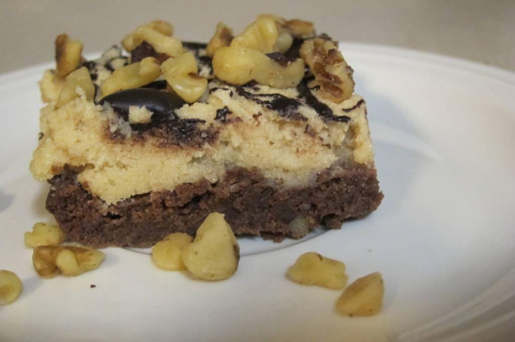 Chocolate Chip Brownie Bars (S) Sugar and Gluten free