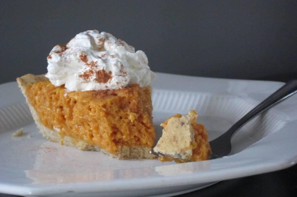 Pumpkin Chiffon Pie (Sugar & Gluten Free)