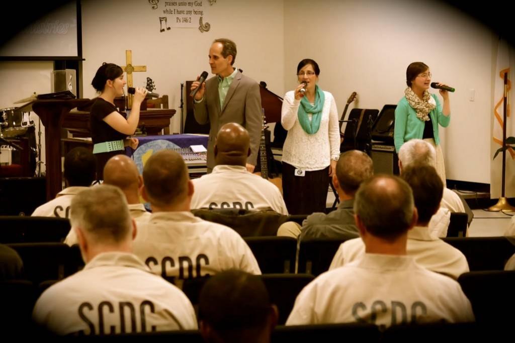 Singing in prison