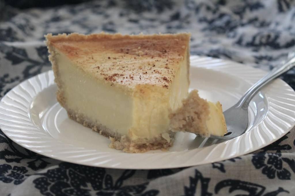 THM Old Fashioned Custard Pie