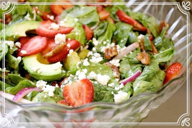 Berry Best Spinach Salad
