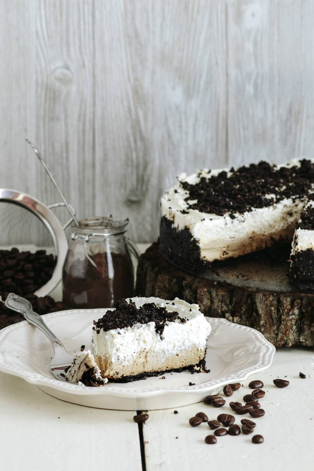 No Bake Mocha Cheesecake (Fats)