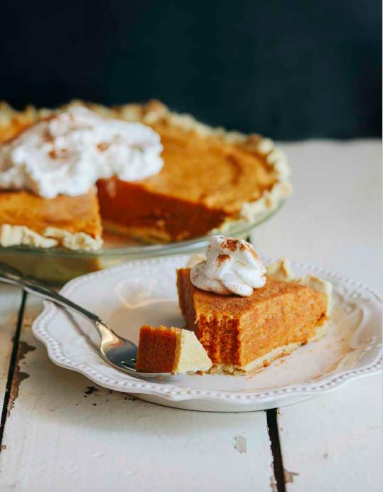 Pumpkin Chiffon Pie (THM S)