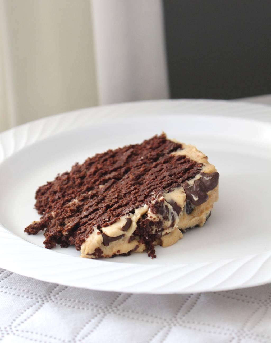 Super Moist Low-Carb Chocolate Cake (Dairy, Sugar & Gluten Free)